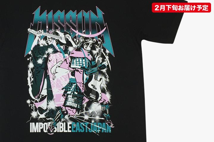 ガイコツ武者×ガイコツ舞妓Tシャツ
